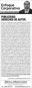 DA_PublicidadDerechosAutor 30 DE MARZO 2016